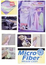 MICROFIBRE MIRACLE CLOTHS-4 PC. SET. picture click to read more